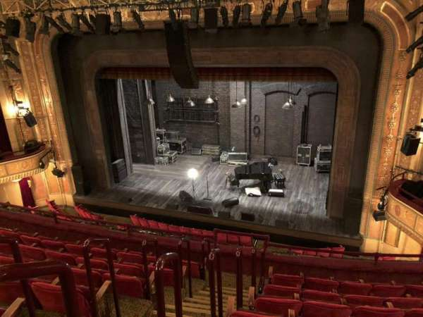 Walter Kerr Theatre, section: Mezz R, row: G, seat: 2