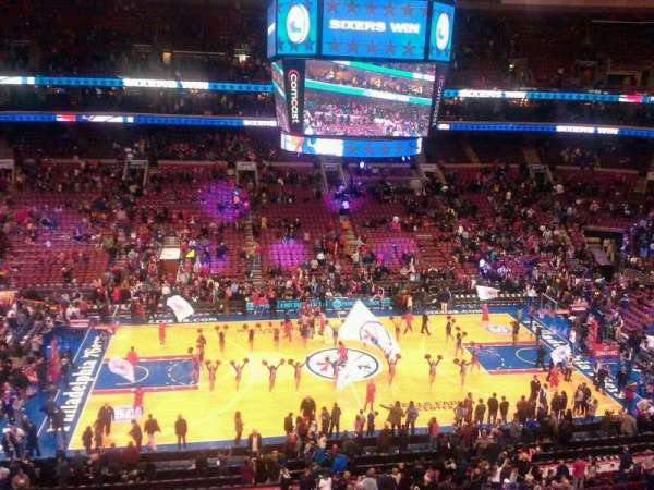 Wells Fargo Center, section: 212, row: 1, seat: 14