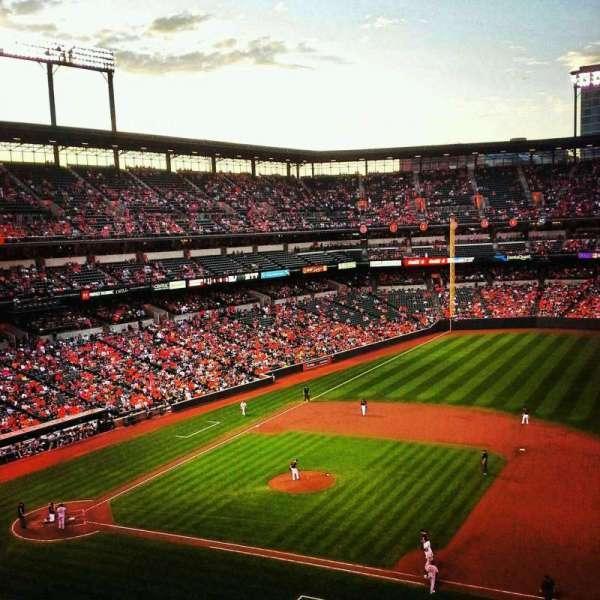Oriole Park at Camden Yards, section: 318, row: 1, seat: 10