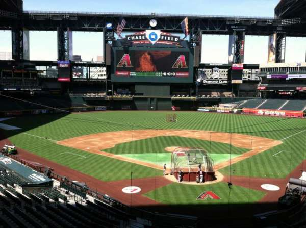 Chase Field, section: Press Box