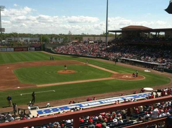 BayCare Ballpark, section: Press Box