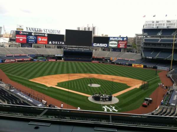 Yankee Stadium, section: Press Box