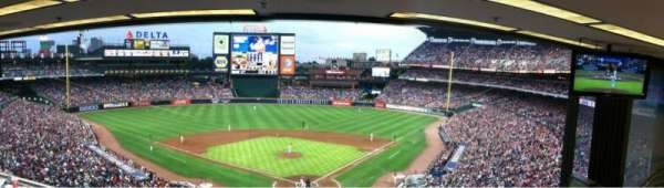 Turner Field, section: Press Box