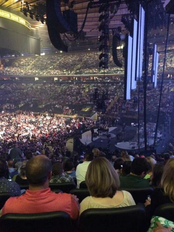 Madison Square Garden, section: 110, row: 20, seat: 6