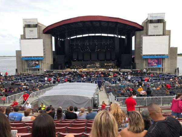 Jones Beach Theater, section: 7R, row: O, seat: 3