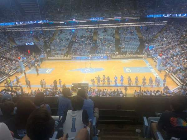 Dean E. Smith Center, section: 226, row: D, seat: 12