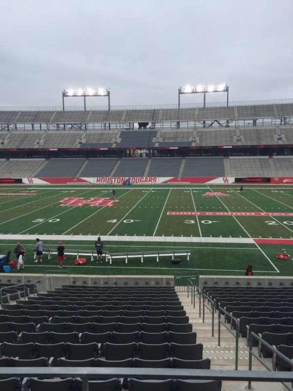 TDECU Stadium, section: 107, row: 16, seat: 1
