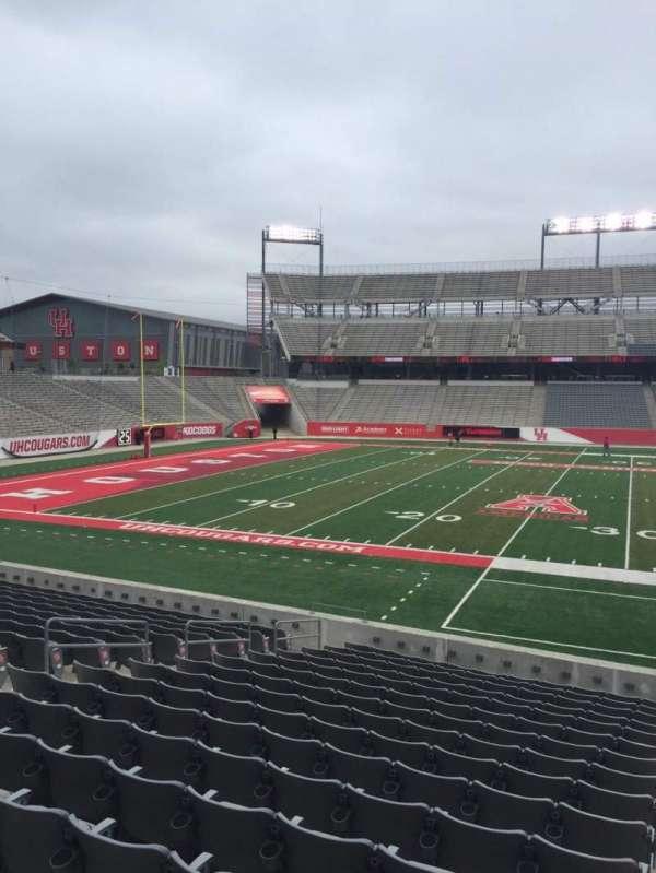 TDECU Stadium, section: 111, row: 16, seat: 1