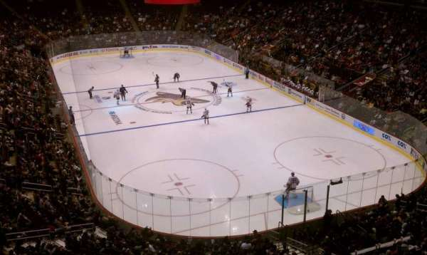Gila River Arena, section: 210, row: A, seat: 7