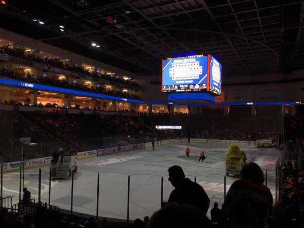 PPL Center, section: 109, row: 14, seat: 2