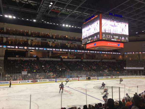 PPL Center, section: 106, row: 12, seat: 17