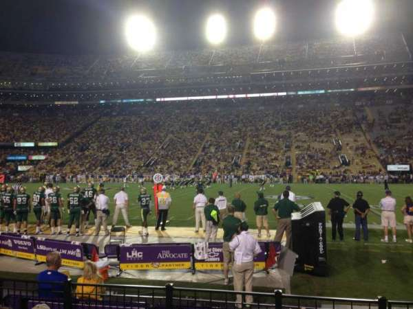 Tiger Stadium, section: 302, row: 5, seat: 3