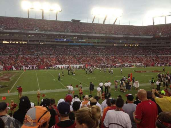 Raymond James Stadium, section: 132, row: n, seat: 19
