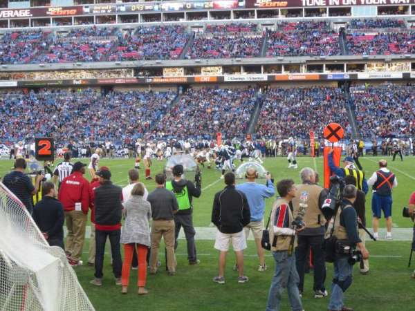 Nissan Stadium, section: 110, row: A, seat: 10