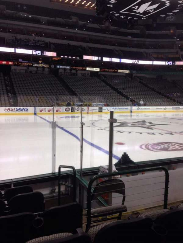 American Airlines Center, section: 120, row: F, seat: 5