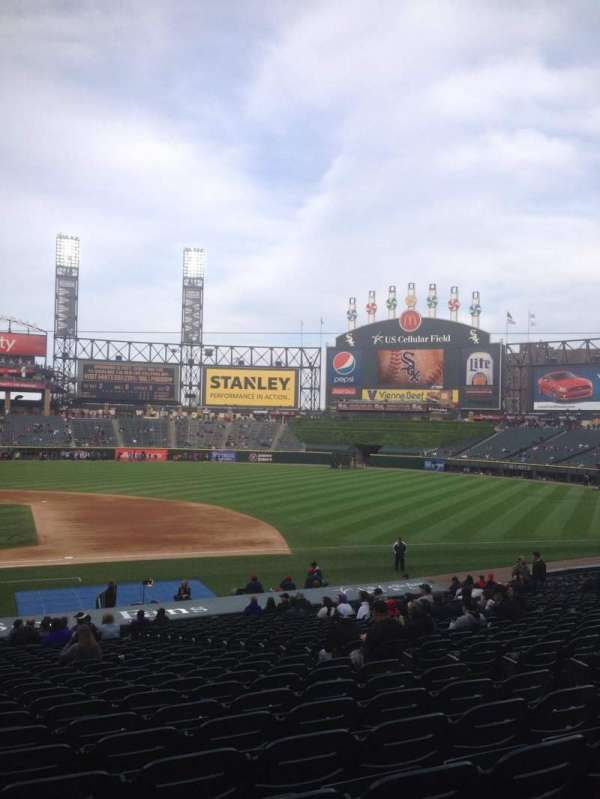 Guaranteed Rate Field, section: 124, row: 29, seat: 8