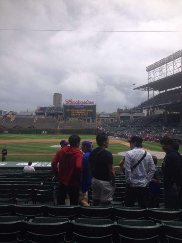 Wrigley Field, section: 113, row: 5, seat: 6