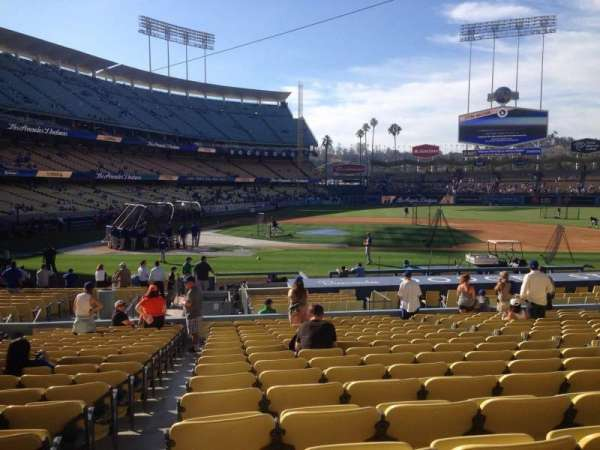 Dodger Stadium, section: 16fd, row: S, seat: 1