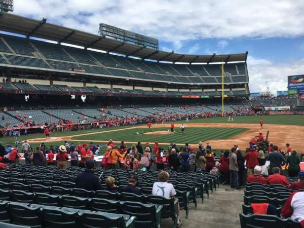 Angel Stadium, section: F126, row: S, seat: 1