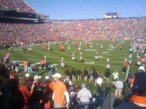 Jordan-Hare Stadium, section: 20