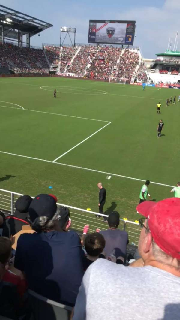Audi Field, section: 115, row: 8, seat: 8