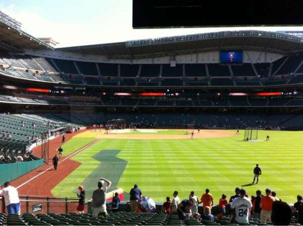 Minute Maid Park, section: 152, row: 18, seat: 17