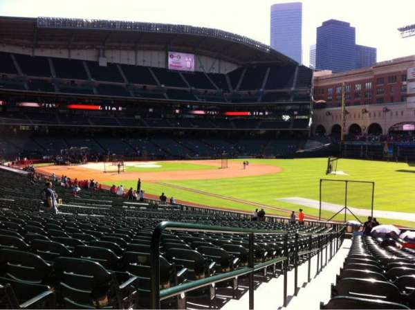 Minute Maid Park, section: 133, row: 35, seat: 1