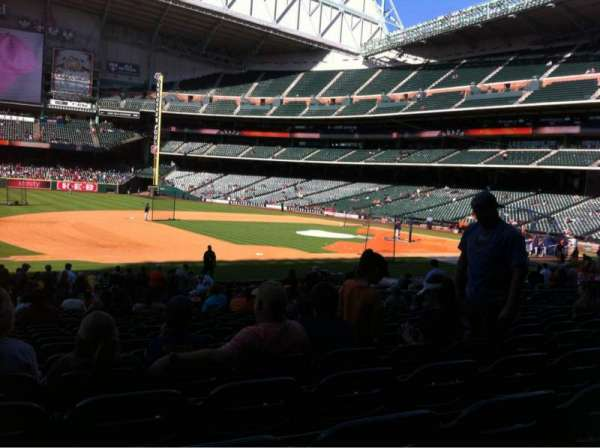 Minute Maid Park, section: 111, row: 26, seat: 1