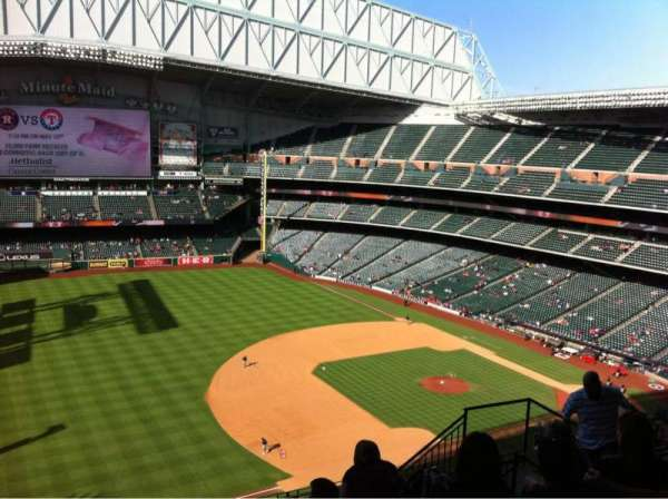 Minute Maid Park, section: 409, row: 7, seat: 14