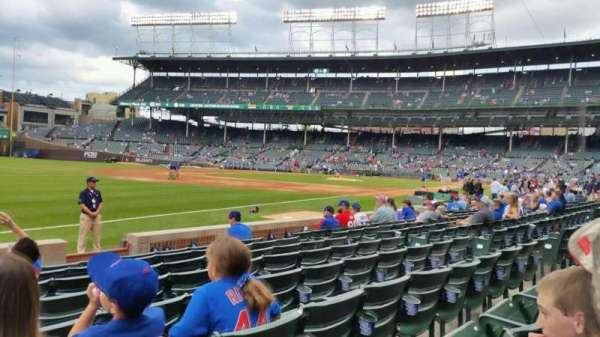 Wrigley Field, section: 6, row: 12, seat: 7