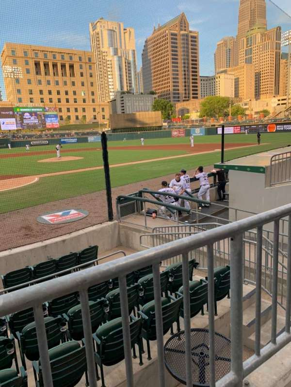 Truist Field, section: 109, row: J, seat: 10