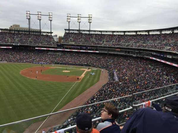 Comerica Park, section: 344, row: C, seat: 18