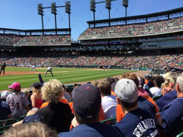 Comerica Park, section: 137, row: 6, seat: 13