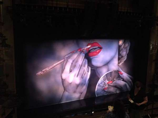 Nederlander Theatre, section: Mezzanine L, row: G, seat: 11 And 13