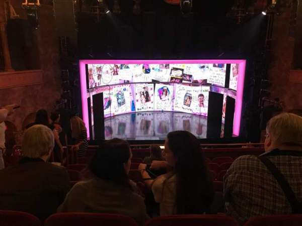 August Wilson Theatre, section: MEZZC, row: H, seat: 111 And 112
