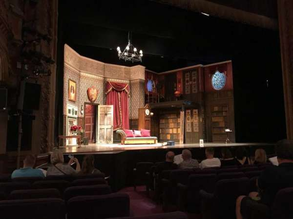 Lyceum Theatre (Broadway), section: ORCL, row: J, seat: 3 And 5