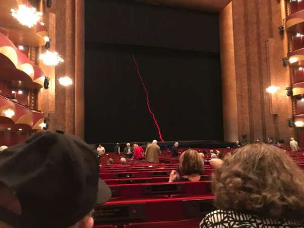 Metropolitan Opera House - Lincoln Center, section: ORCL, row: X, seat: 11 And 13