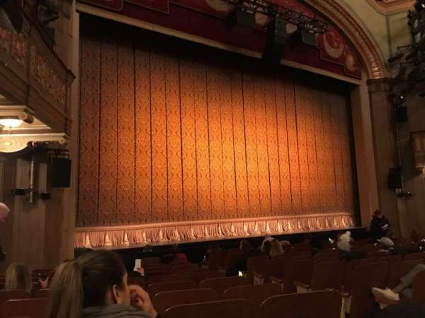 Booth Theatre, section: ORCL, row: K, seat: 5 And 7