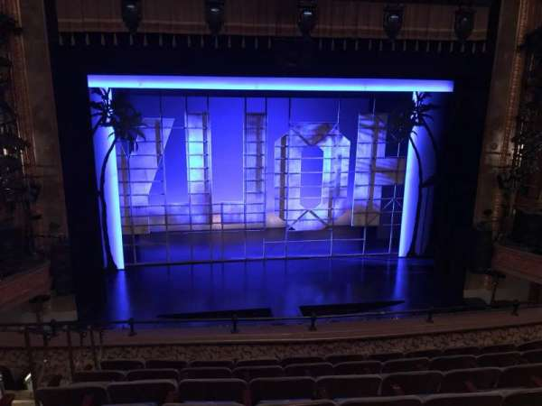 Nederlander Theatre, section: Mezzanine C, row: G, seat: 112 And 113