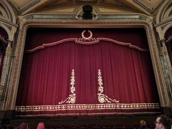 Edinburgh Festival Theatre, section: Stalls, row: J, seat: 30