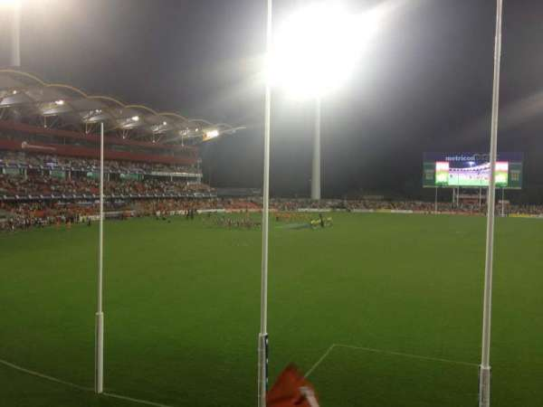 Metricon Stadium, section: 221, row: C, seat: 485