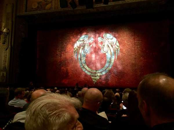 Hollywood Pantages Theatre, section: Orchestra C, row: Q, seat: 101