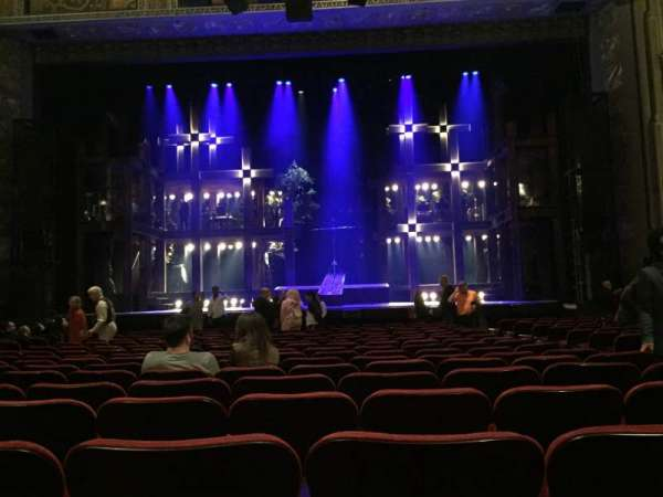 Hollywood Pantages Theatre, section: Orchestra C, row: R, seat: 103