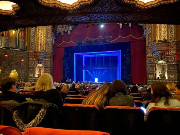 The Fabulous Fox Theatre (St. Louis), section: Orchestra 5, row: AA, seat: 10