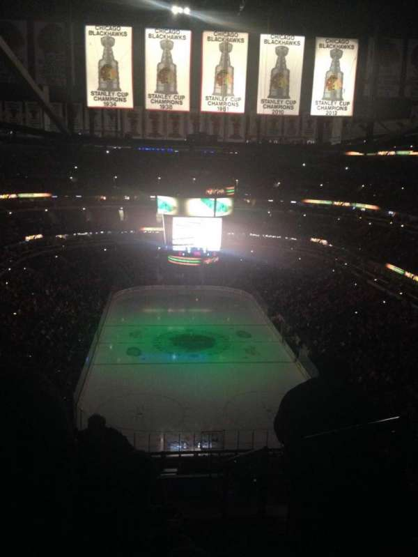 United Center, section: 310, row: 14, seat: 3