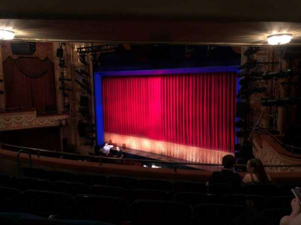 Longacre Theatre, section: Mezzanine R, row: F, seat: 17