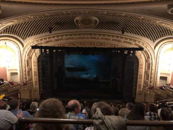 Tivoli Theatre, section: UBC, row: H, seat: 109