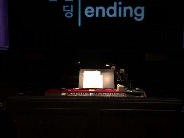 Coca-Cola Stage at Alliance Theatre, section: Orch, row: A, seat: 112