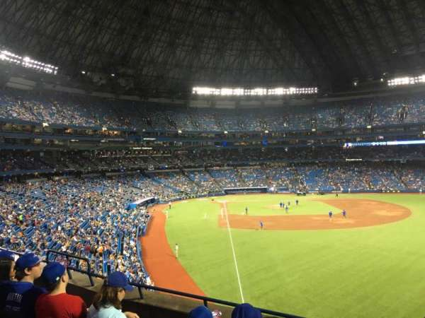 Rogers Centre, section: 210R, row: 5, seat: 8
