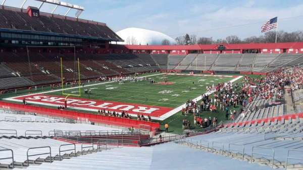 High Point Solutions Stadium, section: 134, row: 50, seat: 14